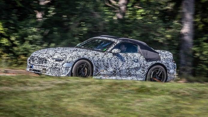 Las mejores imágenes hasta la fecha de los prototipos del nuevo Mercedes Clase SL