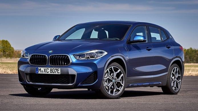El BMW X2 xDrive25e con mecánica híbrida enchufable ya tiene precio en España