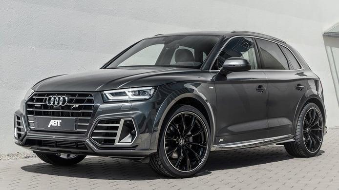 El Audi Q5 TFSI e estrena un kit de carrocería firmado por ABT Sportsline