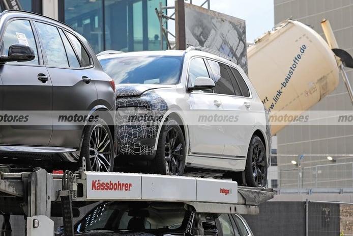 Cazan de nuevo la mula del futuro BMW X8, el SUV más deportivo que llegará en 2022