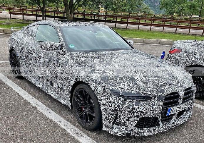 Nuevas fotos espía del BMW M4 M Performance desvelan una mula del M4 CSL