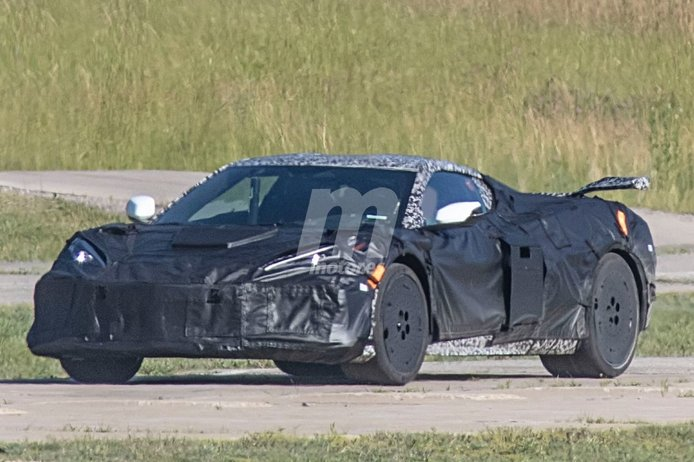 El rugido del nuevo V8 atmosférico del futuro Chevrolet Corvette Z06 [vídeo]