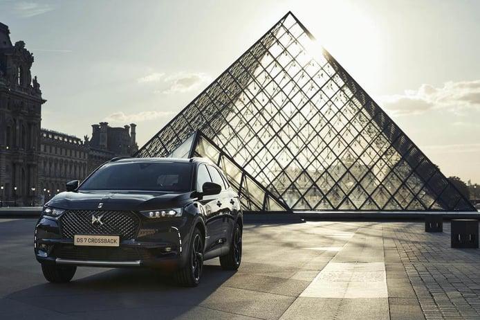 DS 7 Crossback E-TENSE Louvre, nueva edición especial del SUV híbrido enchufable