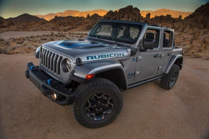 Jeep Wrangler 4xe: el nuevo Wrangler PHEV presume de 380 CV y 40 km en modo eléctrico
