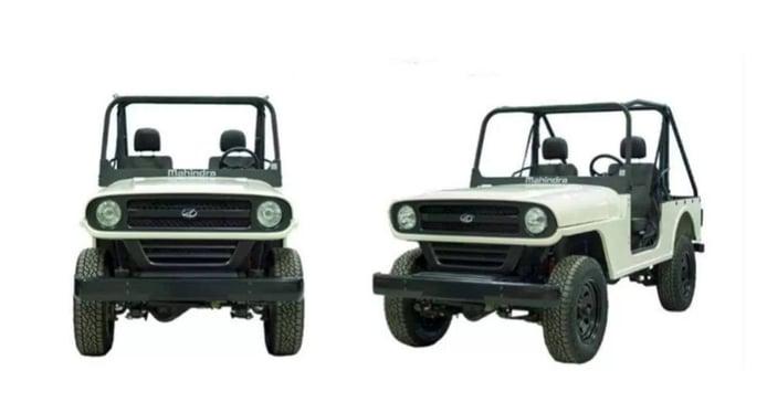 El Mahindra Roxor va a sufrir un cambio de diseño radical