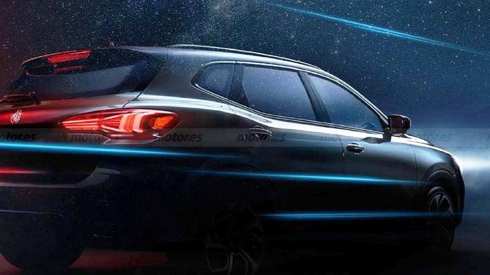 Este nuevo teaser de Morris Garage deja entrever una puesta a punto del MG HS