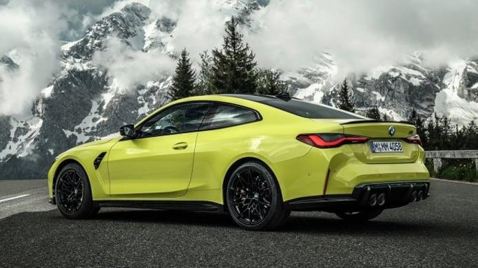 BMW M4 Coupé 2021 - posterior