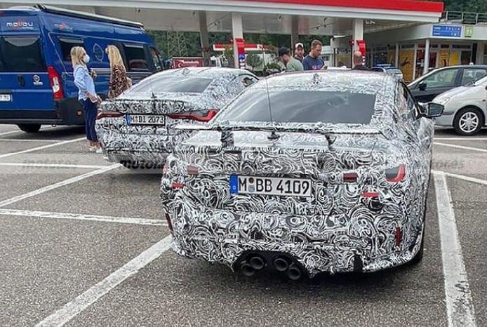 Foto espía BMW M4 M Performance Parts