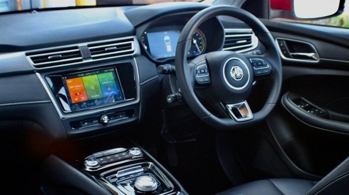 MG5 EV 2021 - interior