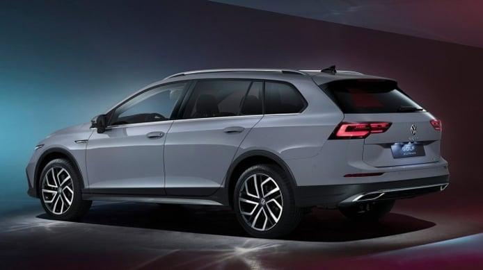 Volkswagen Golf Alltrack 2021 - posterior
