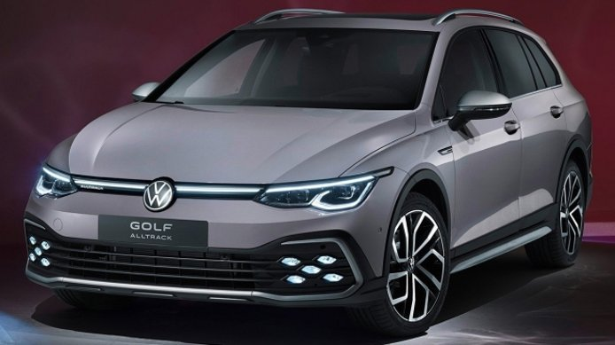 Volkswagen Golf Alltrack 2021 - frontal