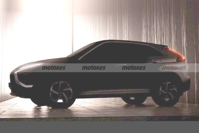 Mitsubishi adelanta el Eclipse Cross facelift con la primera imagen del modelo