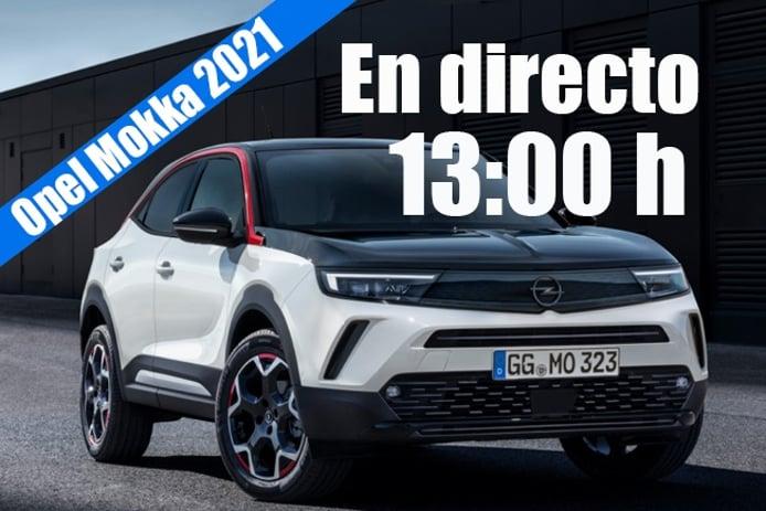 En directo, presentación mundial de los nuevos Opel Mokka y Mokka-e 2021