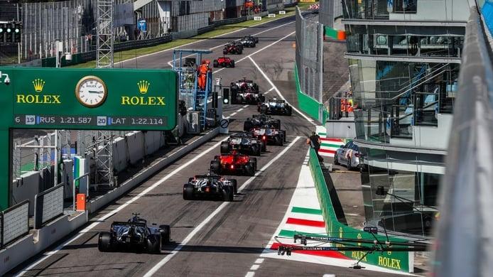 Así queda la parrilla del GP de Italia de F1 2020