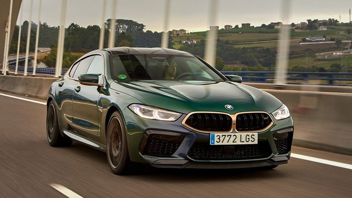 El nuevo y exclusivo BMW M8 Gran Coupé First Edition llega a España