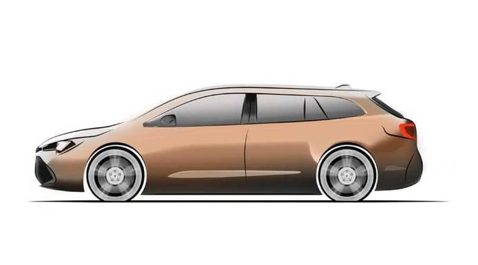 El Suzuki Swace estará basado en el Toyota Corolla y llegará en otoño