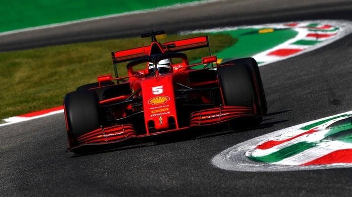 Vettel, tercer peor resultado de la historia de Ferrari en el GP de Italia