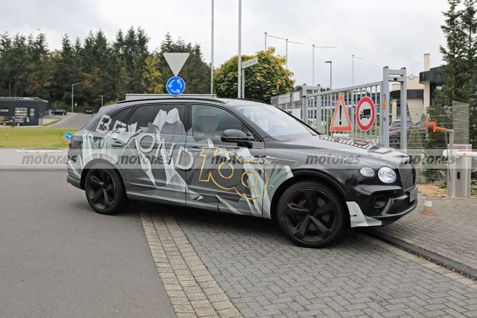 Bentley empieza las pruebas del nuevo Bentley Bentayga LWB 2021 en Nürburgring