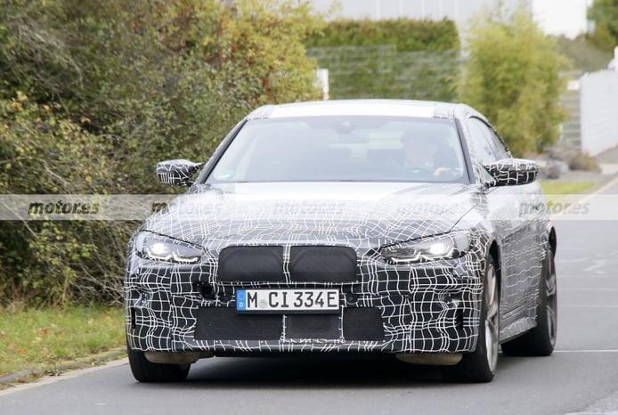 Primeras fotos espía del futuro BMW i4 M 2022, la berlina eléctrica con el sello M