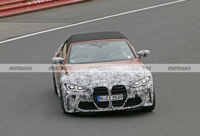 El nuevo BMW M4 Cabrio 2021 pierde camuflaje en un nuevo paso por Nürburgring