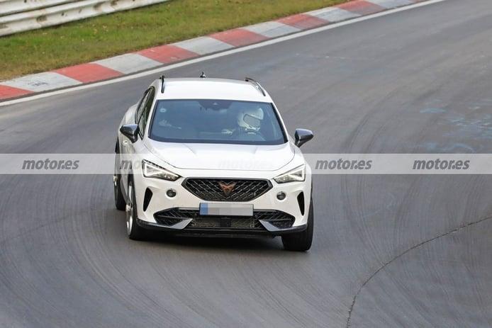 Primeras fotos espía del nuevo CUPRA Formentor VZ de 5 Cilindros en Nürburgring