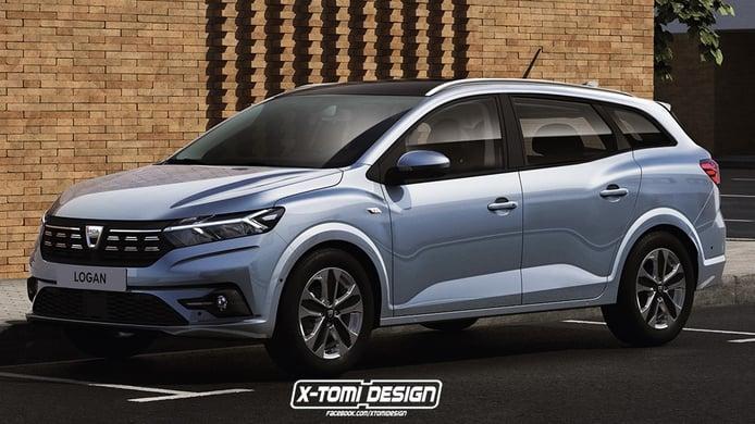 Así sería el nuevo Dacia Logan MCV que no llegará al mercado