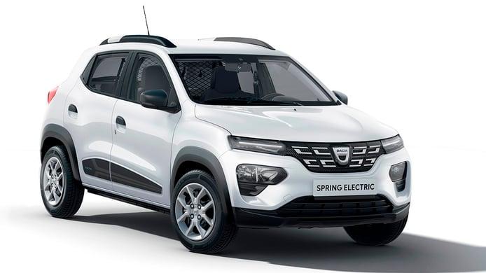 Dacia Spring Cargo, una variante biplaza dirigida a profesionales
