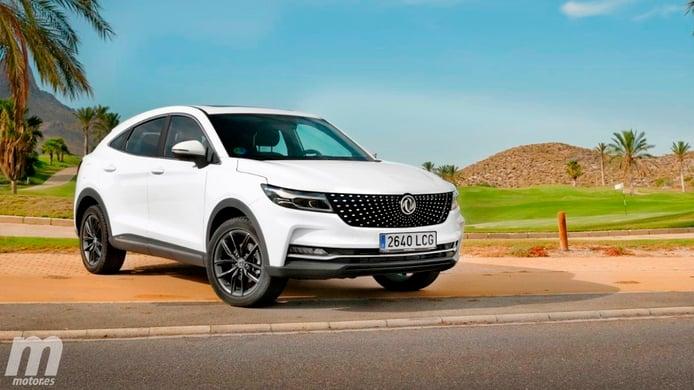 El DFSK F5, un SUV Coupé chino, inicia oficialmente su comercialización en España