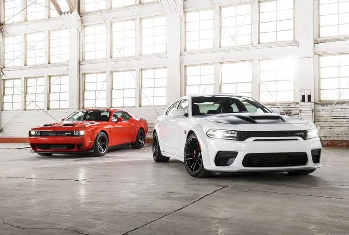 Los Dodge Charger/Challenger van a estrenar tres nuevas versiones