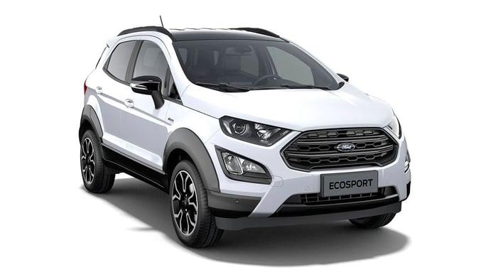 El nuevo Ford EcoSport Active al detalle en estas fotos oficiales