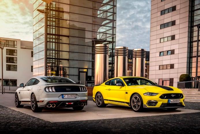 El Ford Mustang Mach 1 debuta en Europa con dos versiones y un motor algo descafeinado