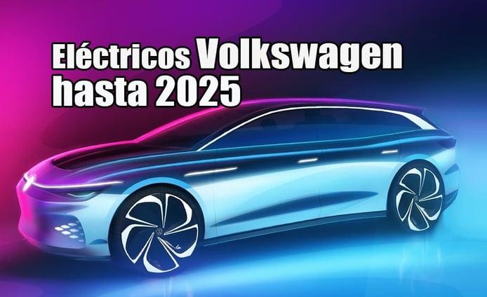 Volkswagen confirma nueve futuros coches eléctricos hasta 2025