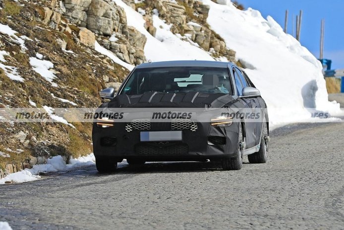 El nuevo Genesis G70 Shooting Brake 2021 traslada sus pruebas a los Alpes