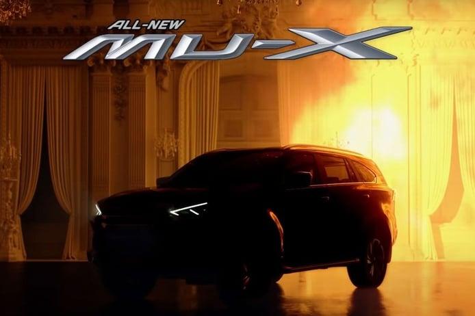 Primer teaser del nuevo Isuzu MU-X, llega una nueva generación del SUV japonés