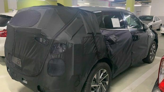 KIA Sportage Hybrid, cazada la versión híbrida que estrenará la nueva generación