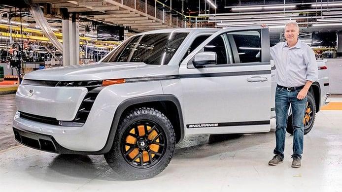 El Lordstown Endurance, un nuevo pick-up eléctrico, llegará al mercado en 2021