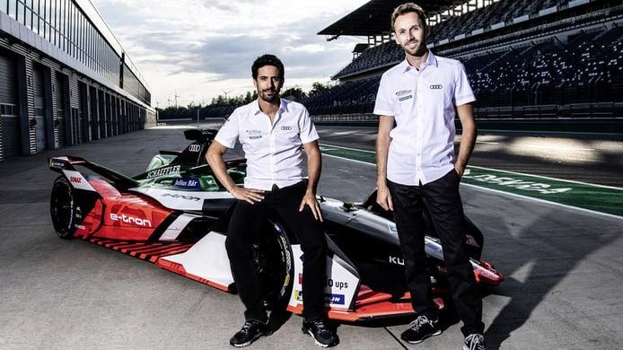 Lucas Di Grassi y René Rast forman la nueva dupla de Audi en Fórmula E