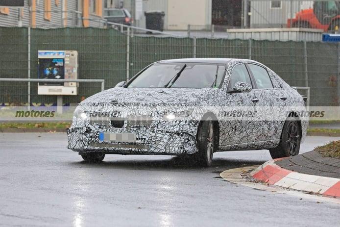 Los prototipos del nuevo Mercedes-AMG C 43 4MATIC reaparecen cerca de Nürburgring