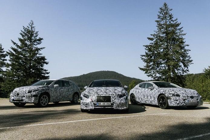 Mercedes confirma seis eléctricos, el nuevo EQS estrenará plataforma en 2021