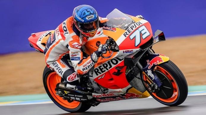 Petrucci gana el GP de Francia de MotoGP por delante de Álex Márquez