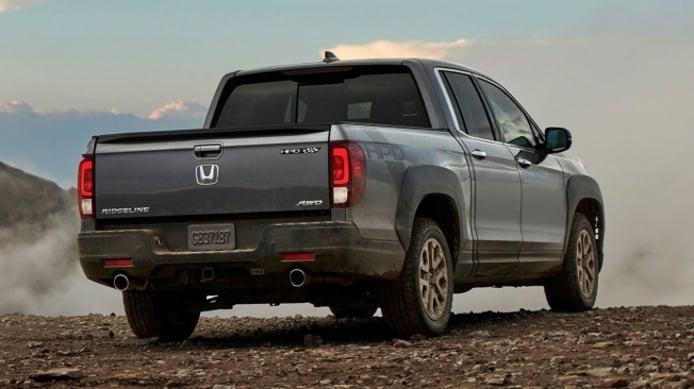 Honda Ridgeline 2021 - posterior
