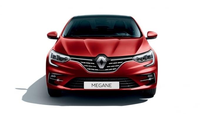 Renault Mégane Sedán 2021 - frontal