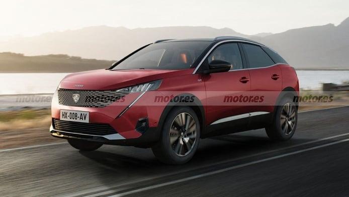 Adelantamos el diseño del futuro Peugeot 3008 Coupé, un modelo en estudio para 2023