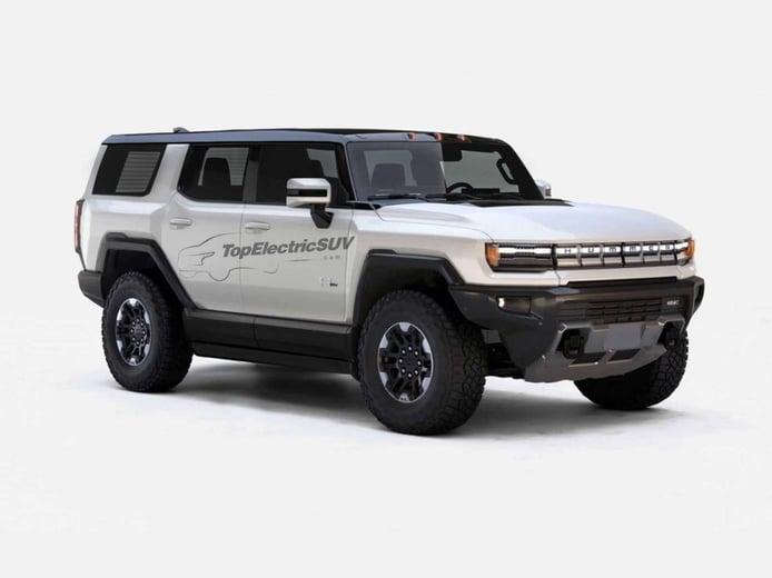 Así será el nuevo GMC Hummer EV SUV según el diseño de su hermano pick-up