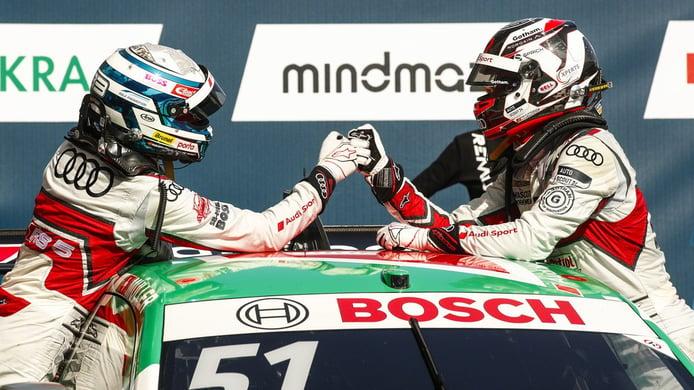 René Rast amenaza el liderato de Nico Müller tras la visita del DTM a Zolder