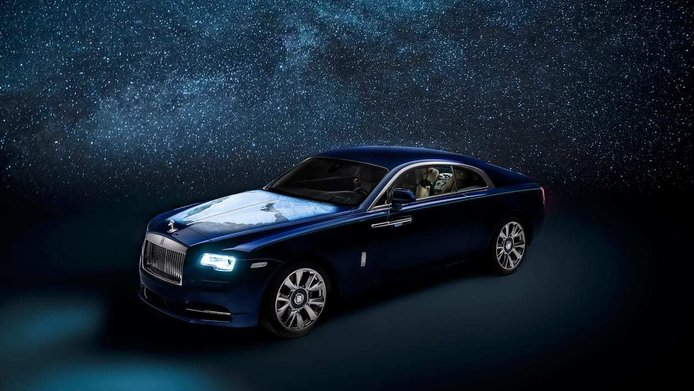 Rolls Royce «Wraith – Inspired by Earth»: nuevo capricho para jeques