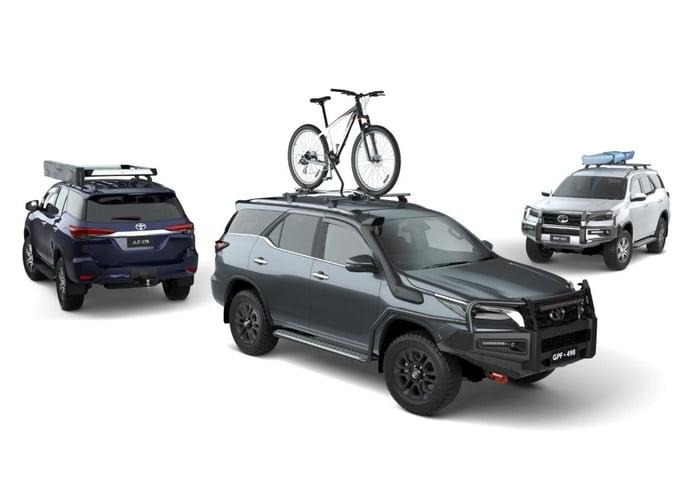 Toyota insinúa que los futuros Land Cruiser 300 y Fortuner tendrán versión deportiva GR