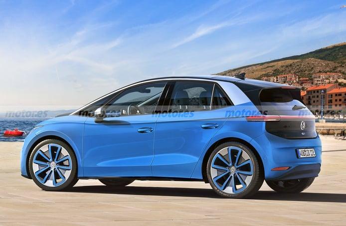 Adelantamos el diseño del Volkswagen ID.1, el utilitario eléctrico que llegará en 2025