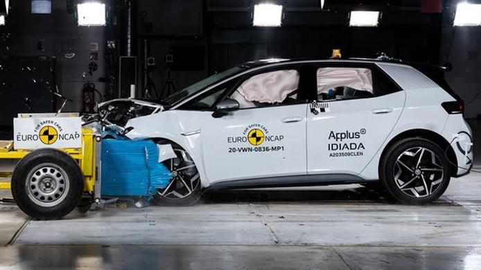 El nuevo Volkswagen ID.3 no defrauda en las pruebas de seguridad Euro NCAP