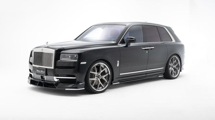 Wald International retoca el exclusivo Rolls-Royce Cullinan con el paquete Black Bison